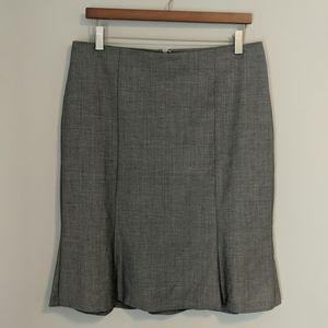 Talbots light gray skirt